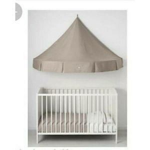 Ikea Charmtroll Leffler Tent Canopy Nursery Tan